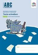 Cover-Bild zu Texte schreiben von Bode-Kirchhoff, Nina