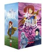 Cover-Bild zu Kibuishi, Kazu: Amulet #1-8 Box Set