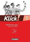 Cover-Bild zu Bähnk, Nina: Klick! Deutsch, Westliche Bundesländer, 5. Schuljahr, Sprechen, Lesen, Schreiben, Handreichungen für den Unterricht