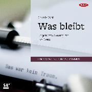 Cover-Bild zu Was bleibt (Audio Download) von Wolf, Christa