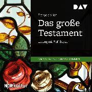 Cover-Bild zu Das große Testament (Audio Download) von Villon, François
