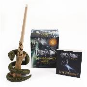 Cover-Bild zu Harry Potter Voldemort's Wand with Sticker Kit von Press, Running