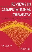 Cover-Bild zu Lipkowitz, Kenny B. (Hrsg.): Reviews in Computational Chemistry (eBook)