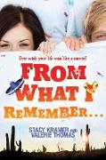 Cover-Bild zu Thomas, Valerie: From What I Remember (eBook)
