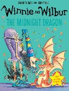 Cover-Bild zu Thomas, Valerie: Winnie and Wilbur: The Midnight Dragon with audio CD