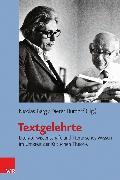 Cover-Bild zu Textgelehrte (eBook) von Scheit, Gerhard (Beitr.)