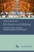 Cover-Bild zu Tenorth, Heinz-Elmar: Die Rede von Bildung