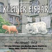 Cover-Bild zu Kleiner Eisbär - Das Hörspiel Teil 2 (Audio Download) von Beer, Hans de