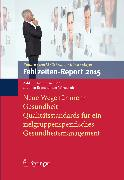 Cover-Bild zu Badura, Bernhard (Hrsg.): Fehlzeiten-Report 2015 (eBook)