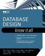 Cover-Bild zu Teorey, Toby J.: Database Design: Know It All (eBook)