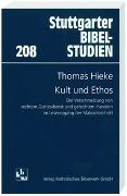 Cover-Bild zu Hieke, Thomas: Kult und Ethos