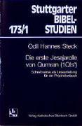 Cover-Bild zu Steck, Odil H: Die erste Jesajarolle von Qumran (1QIsa)