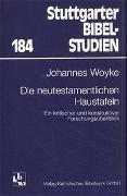 Cover-Bild zu Woyke, Johannes: Die neutestamentlichen Haustafeln