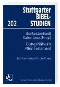 Cover-Bild zu Eberhardt, Gönke (Hrsg.): Gottes Nähe im Alten Testament