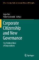 Cover-Bild zu Corporate Citizenship and New Governance von Koslowski, Peter (Hrsg.)