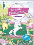 Cover-Bild zu Das Hin-und-weg-Stickerbuch. Einhörner von frechverlag