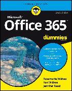 Cover-Bild zu Office 365 For Dummies (eBook) von Withee, Rosemarie
