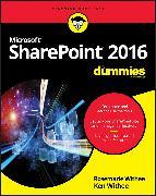 Cover-Bild zu SharePoint 2016 For Dummies (eBook) von Withee, Rosemarie