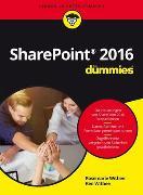Cover-Bild zu SharePoint 2016 für Dummies von Withee, Rosemarie