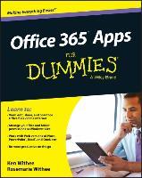 Cover-Bild zu Office 365 Apps for Dummies von Withee, Ken