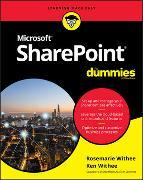 Cover-Bild zu SharePoint For Dummies von Withee, Ken