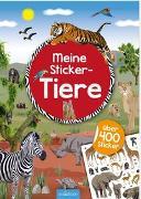 Cover-Bild zu Bräuer, Ingrid (Illustr.): Meine Sticker-Tiere