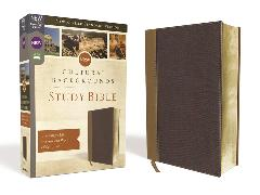 Cover-Bild zu Zondervan,: NRSV, Cultural Backgrounds Study Bible, Leathersoft, Tan/Brown, Comfort Print