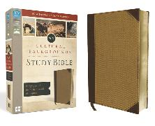 Cover-Bild zu Zondervan,: NIV, Cultural Backgrounds Study Bible, Leathersoft, Tan, Red Letter