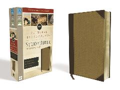 Cover-Bild zu Zondervan,: NIV, Cultural Backgrounds Study Bible, Personal Size, Leathersoft, Tan, Red Letter Edition