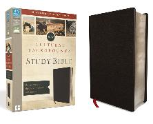 Cover-Bild zu Zondervan,: NIV, Cultural Backgrounds Study Bible, Bonded Leather, Black, Red Letter