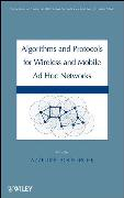 Cover-Bild zu Boukerche, Azzedine: Algorithms and Protocols for Wireless, Mobile Ad Hoc Networks