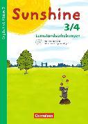 Cover-Bild zu Sunshine 3./4. Klasse. Allgemeine Ausgabe. Neubearbeitung. Lernstandserhebung mit Audio-CD von Hafner, Renate