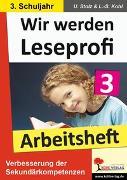 Cover-Bild zu Wir werden Leseprofi 3 - Arbeitsheft (eBook) von Stolz, Ulrike