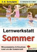 Cover-Bild zu Lernwerkstatt Den Sommer kennen lernen (eBook) von Hielscher, Sylvia