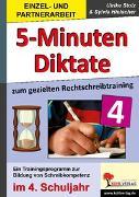 Cover-Bild zu 5-Minuten-Diktate zum gezielten Rechtschreibtraining / 4. Schuljahr (eBook) von Stolz, Ulrike