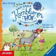Cover-Bild zu Wir Kinder vom Kornblumenhof. Zwei Esel im Schwimmbad (Audio Download) von Fröhlich, Anja