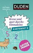 Cover-Bild zu Weltenfänger: Kreuz und quer durch's Einmaleins (Kartenset) von Wittenburg, Christiane