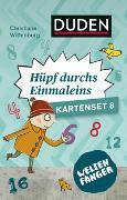 Cover-Bild zu Weltenfänger: Hüpf durch das Einmaleins (Kartenset) von Wittenburg, Christiane