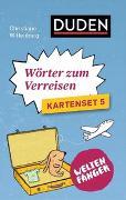 Cover-Bild zu Weltenfänger: Wörter zum Verreisen (Kartenset) von Wittenburg, Christiane