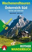 Cover-Bild zu Wochenendtouren Österreich Süd von Marktl, Martin