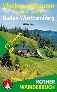 Cover-Bild zu Wochenendtouren von Hütte zu Hütte Baden-Würtemberg von Sauer, Philipp