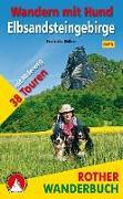 Cover-Bild zu Wandern mit Hund Elbsandsteingebirge von Rößner, Franziska