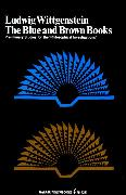 Cover-Bild zu The Blue and Brown Books von Wittgenstein, Ludwig