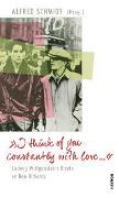 """Cover-Bild zu """"I think of you constantly with love ?"""" von Wittgenstein, Ludwig"""