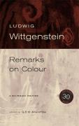 Cover-Bild zu Remarks on Colour, 30th Anniversary Edition von Wittgenstein, Ludwig