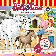 Cover-Bild zu Bibi & Tina - Folge 100: Das Waisenfohlen (Extra lange Folge) (Audio Download) von Bornstädt, M. von