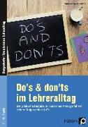 Cover-Bild zu Do's & Don'ts im Lehreralltag von Krumwiede-Steiner, Franziska