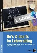 Cover-Bild zu Do's & Don'ts im Lehreralltag (eBook) von Krumwiede-Steiner, Franziska