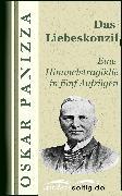 Cover-Bild zu Das Liebeskonzil (eBook) von Panizza, Oskar