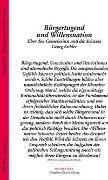 Cover-Bild zu Kohler, Georg: Bürgertugend und Willensnation